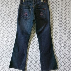 7 For All Mankind A Pocket Denim Jeans - Size 28